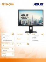 Monitor 24'' BE24AQLBH IPS WUXGA 5ms D-SUB DVI-D HDMI DP PIVOT