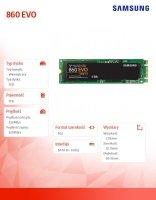Dysk SSD 860EVO M.2 Sata MZ-N6E1T0BW 1 TB