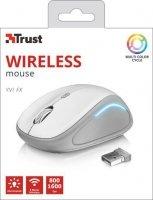 Mysz bezprzewodowa YVI FX biała