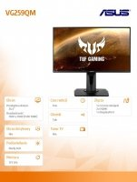 Monitor 25 VG259QM