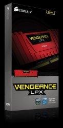 DDR4 Vengeance LPX 8GB/2400 RED CL14-16-16-31 1.20V XMP2.0