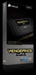 DDR4 Vengeance LPX 8GB/2666 BLACK CL16-18-18-35 1.20V XMP2.0