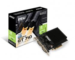 Karta graficzna GeForce GT710 2GB H2D DDR3 64BIT DVI-I/DVI-D/miniHDMI