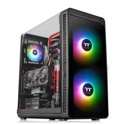 Obudowa komputerowa Core P3 Tempered Glass - czarna