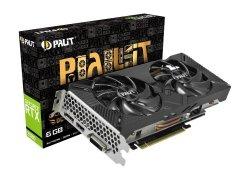 Karta graficzna GeForce RTX 2060 DUAL OC 6GB GDDR6 192bit DP/DVI-D/HDMI