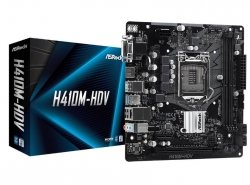 Płyta główna H410M-HDV s1200 2DDR4 HDMI/DVI/D-SUB mATX