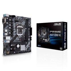 Płyta główna PRIME H410M-K s1200 2DD R4 D-Sub/DVI USB3.2 mATX