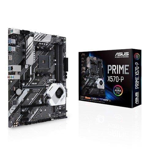 Płyta Asus Prime X570-P/AMD X570/SATA3/M.2/USB3.1/PCIe4.0/AM4/ATX