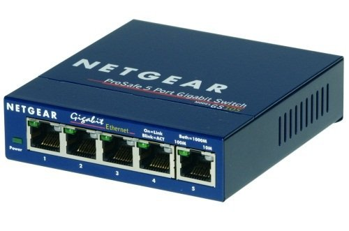 Switch Unmanaged Plus 5xGE - GS105GE
