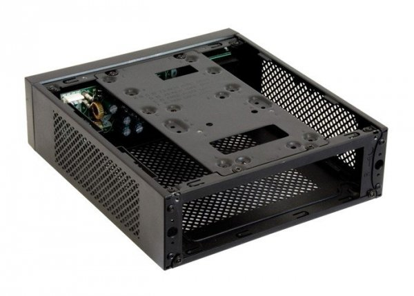 Obudowa IX-03B-OP mini ITX Aluminium Panel