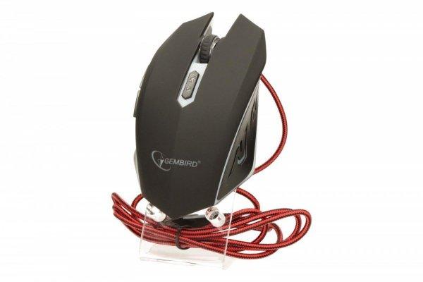 Mysz dla graczy MUSG-001-R 2400DPI