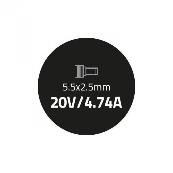 Zasilacz do IBM Lenovo 90W | 20V | 4.74A | 5.5*2.5