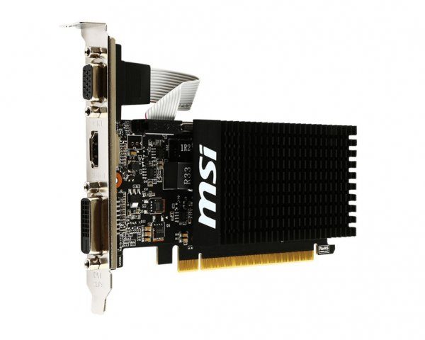Karta graficzna GeForce GT 710 1GB DDR3 64BIT DVI/VGA/HDMI