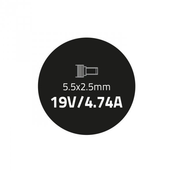 Zasilacz do Acer 90W | 19V | 4.74A | 5.5*2.5