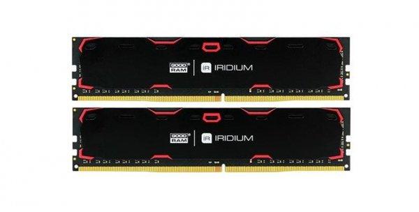 DDR4 IRIDIUM 8GB/2400(2*4GB) 17-17-17 512*8 Czarna