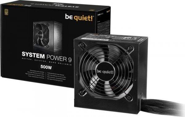 Zasilacz System Power 9 500W 80+ BRONZE N.MODU  BN246