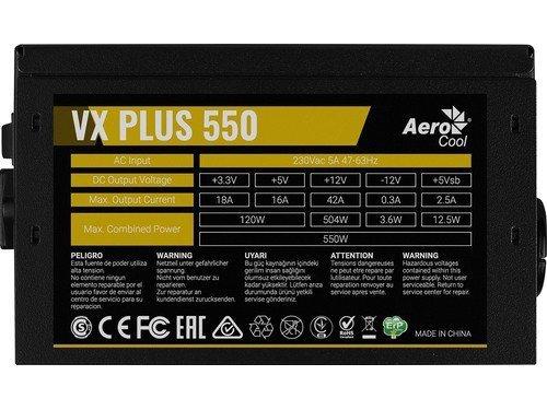Zasilacz PGS VX 550W 80+ BOX