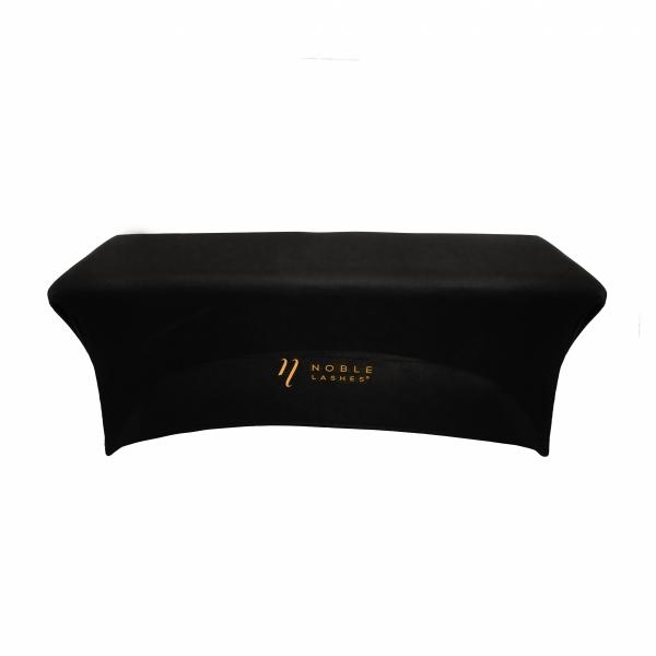 copriletto per extension ciglia per lettino estetico con logo noble lashes