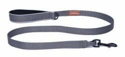 Dog Lead SHORT gray