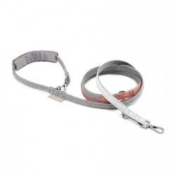 Dog Lead PARIS gray