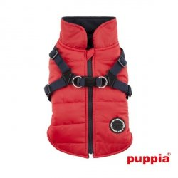 Jacket  MOUNTAINEER II red with harness