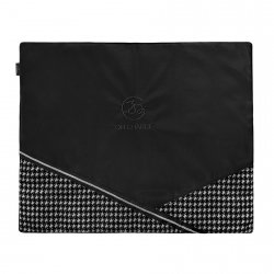 Luxury travel mat PRESTIGE black