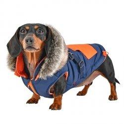 Zimowa kurtka dla psa ORSON niebieska