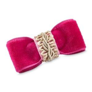 Spinka do włosów LOVELY różowa + woreczek