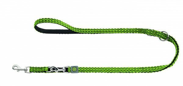 Adjustable dog lead HILO green Hunter