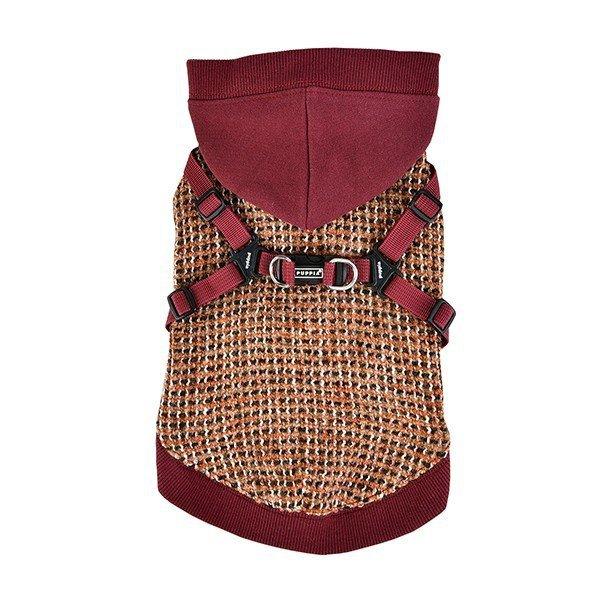 Bluza VALE czerwona z szelkami Puppia