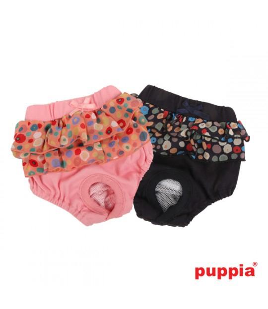 majteczki higieniczne dla psa z uroczą falbanką od Pinkaholic