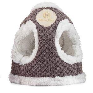 Zimowe szelki dla psa OSLO brązowe Chloe's Home