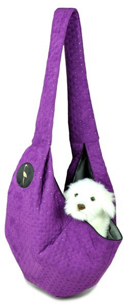 Sportowa torba nosidło SARA filotelowy pikowany