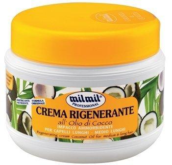 Mil Mil Crema Rigenerante Coco - Maska restrukturyzująca kokosowa 500 ml