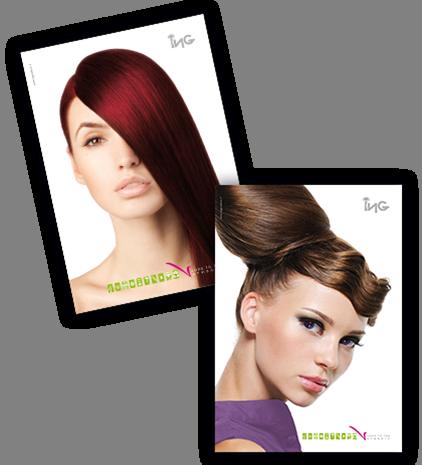ING CREAM - Profesjonalna farba do włosów 100 ml - odcień 6.66 – Ciemny Blond In
