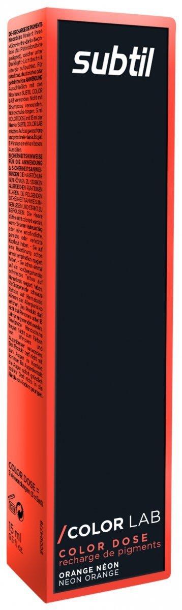 Color Dose NEON 15 ml POMARAŃCZOWY Subtil