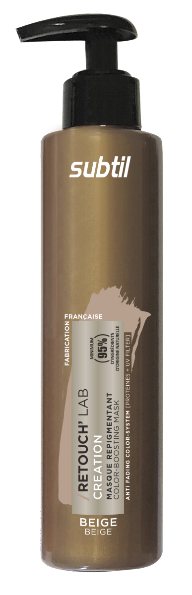 Odżywka do włosów koloryzująca Retouch BEŻ.  Pielęgnacja repigmentująca 195 ml.