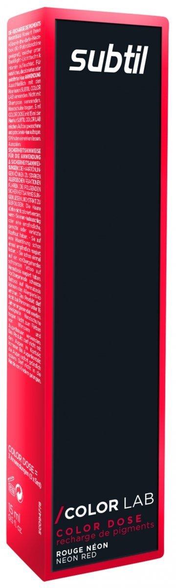 Color Dose NEON 15 ml CZERWONY
