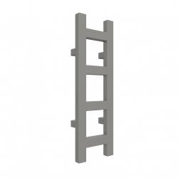 Grzejnik EASY 640x200 Graphite SX