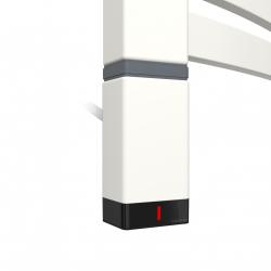 Grzałka One T36x40 Lewy 600W Kolor Biały z Kablem Spiralnym