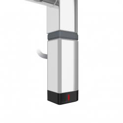 Grzałka One D30x40 Prawy 200W Kolor Chrom z Kablem Spiralnym