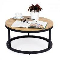 Stolik kawowy loft nowoczesny industrialny 60 cm