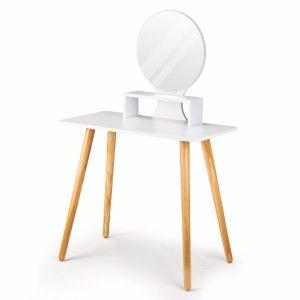 Toaletka kosmetyczna z lustrem biurko konsola ModernHome