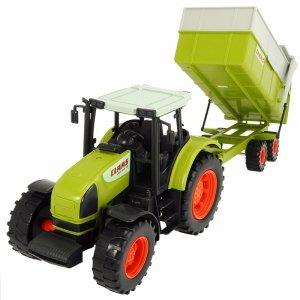 DICKIE Traktor CLAAS Ares z Przyczepką 57 cm