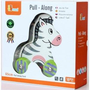 Viga drewniana Zebra do ciągnięcia