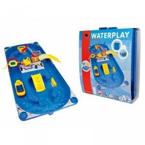 BIG Duży Tor Wodny Funland z serii Waterplay + Statek Figurki (16el.)