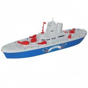 Statek Łódka Okręt Wojskowy Śmiały 46cm