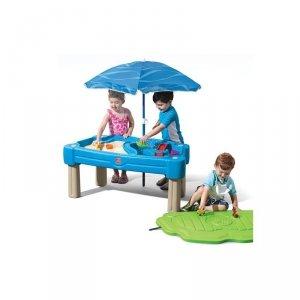 Stół Wodny z piaskownicą i parasolem 2w1 Step2
