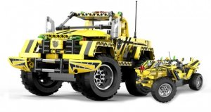 Bumblebee Pickup - CADA - ZDALNIE STEROWANY (C51003W)