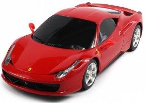 FERRARI 458 Italia 1:18 RTR (zasilanie na baterie AA) - Czerwony